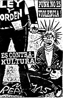 punk is not violence!